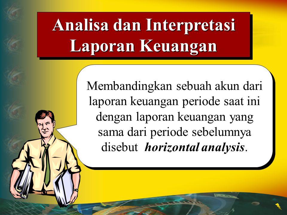 Analisa dan Interpretasi Laporan Keuangan