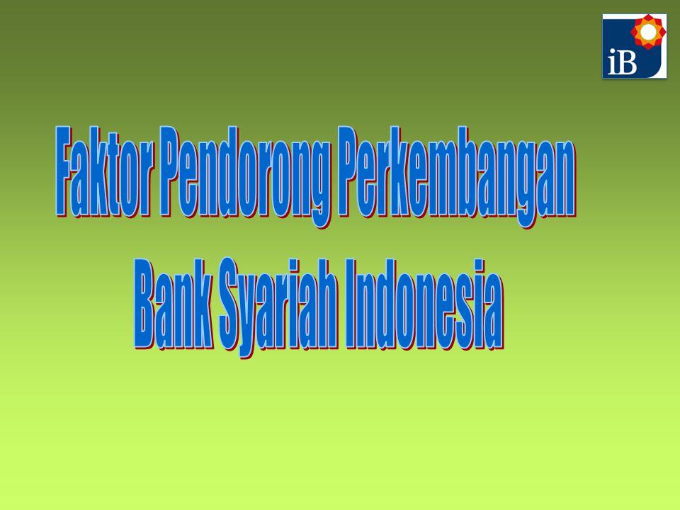 Faktor Pendorong Perkembangan Bank Syariah Indonesia
