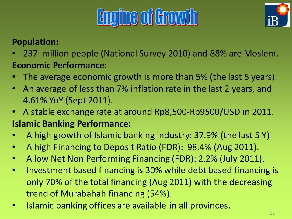 Engine of Growth Population: