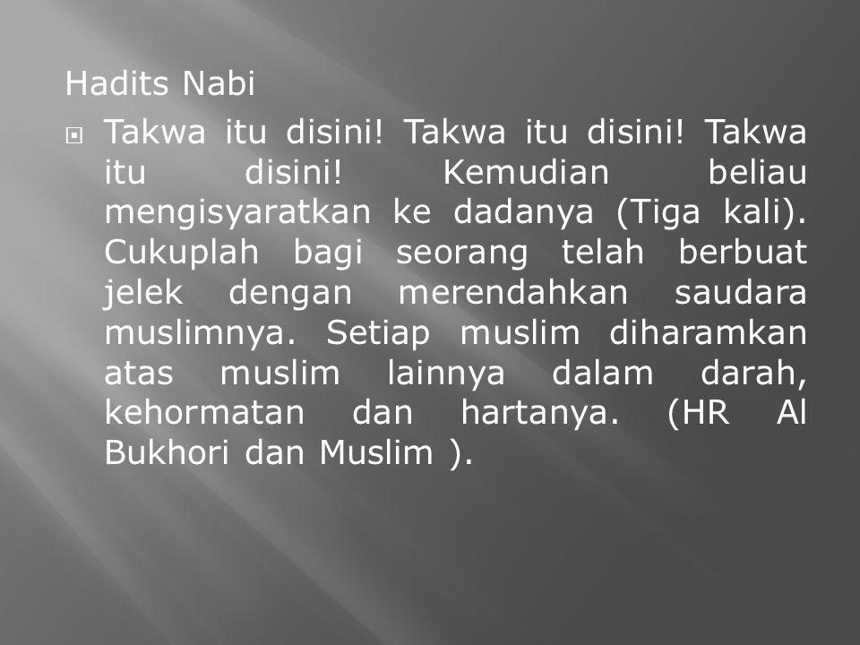 Hadits Nabi