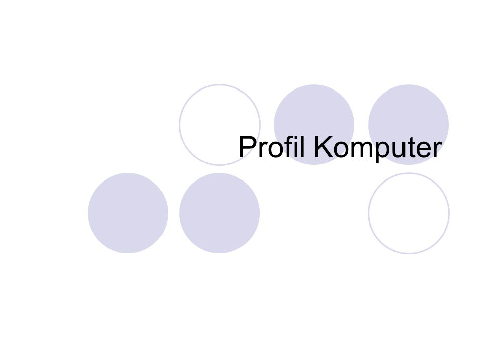 Profil Komputer