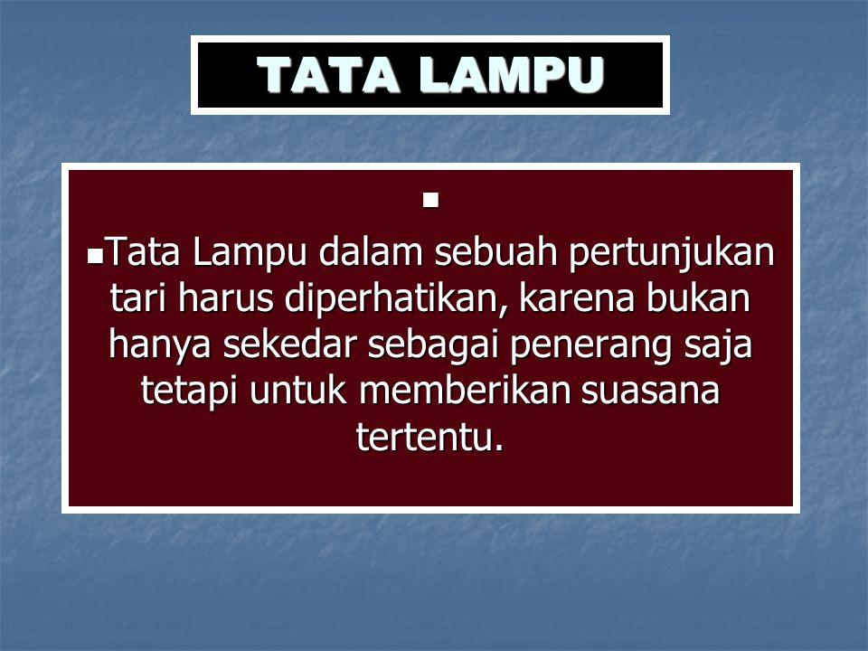 TATA LAMPU