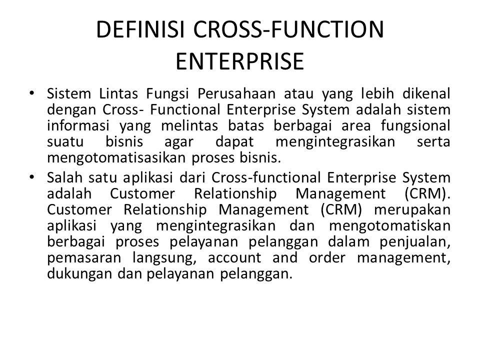 DEFINISI CROSS-FUNCTION ENTERPRISE