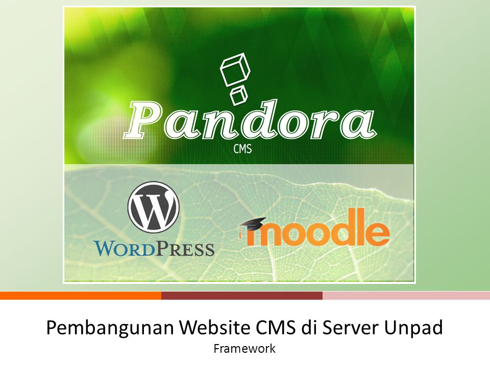 Pembangunan Website CMS di Server Unpad