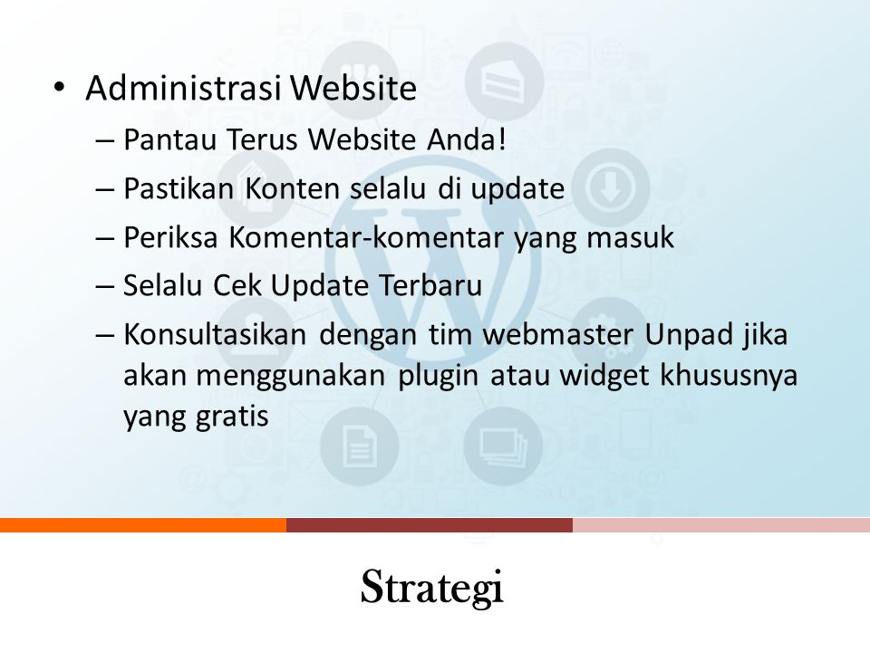 Strategi Administrasi Website Pantau Terus Website Anda!