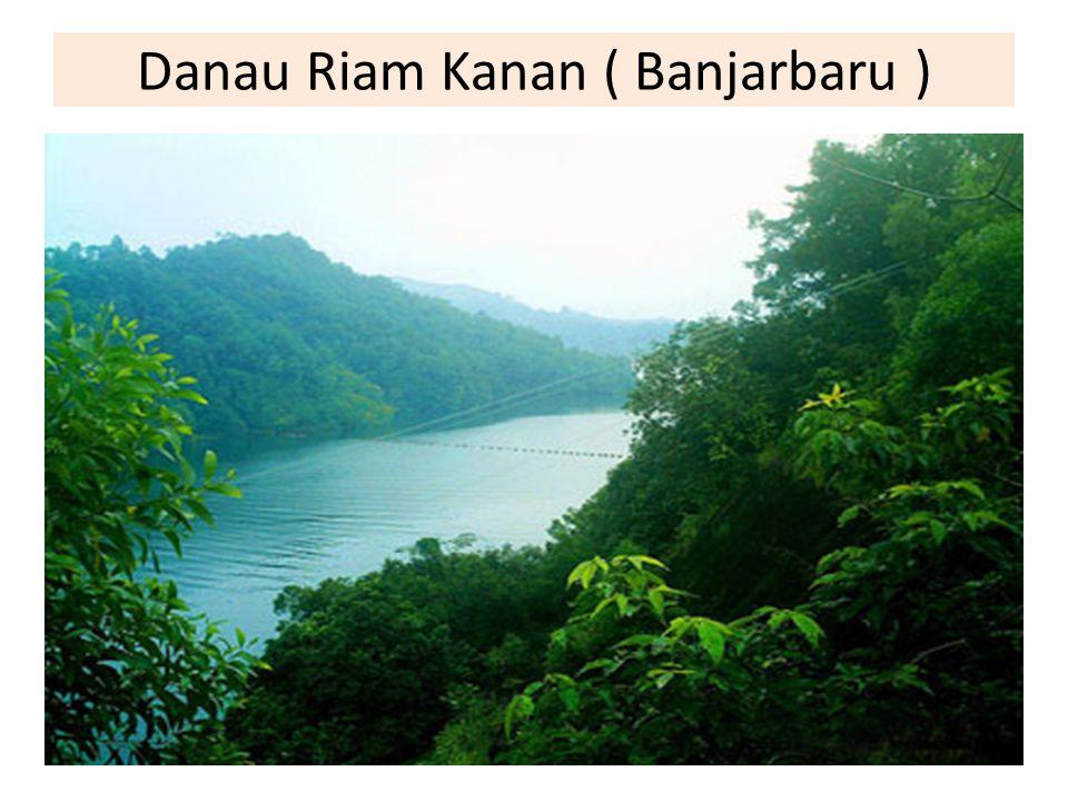 Danau Riam Kanan ( Banjarbaru )