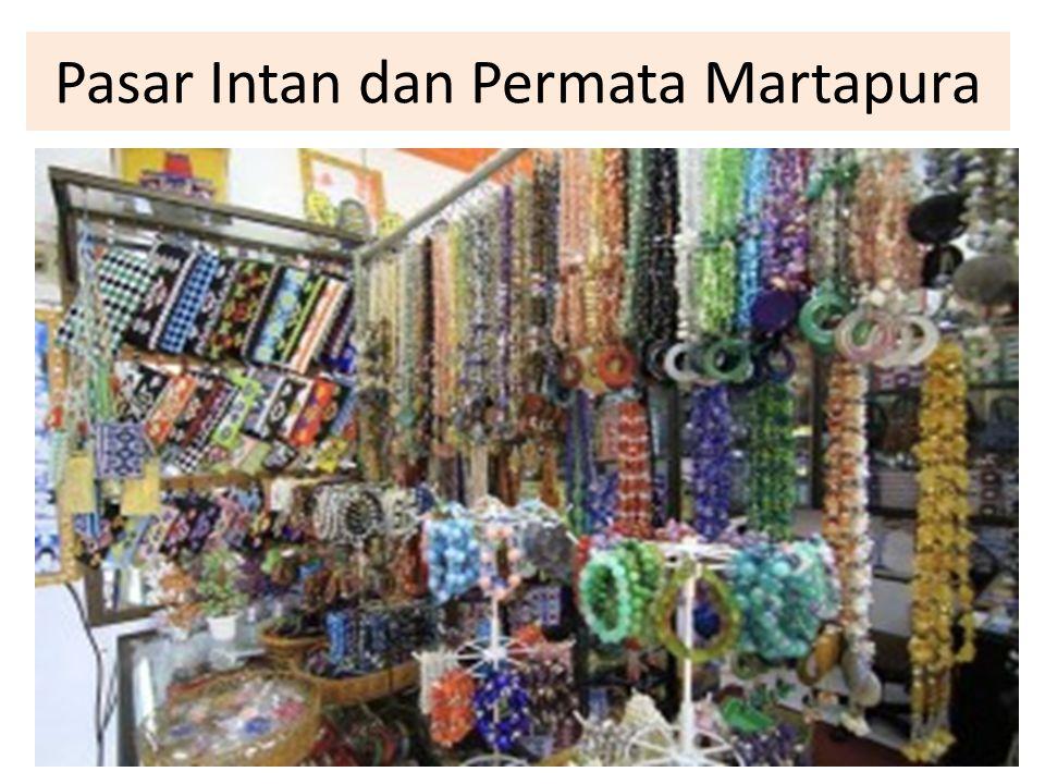 Pasar Intan dan Permata Martapura