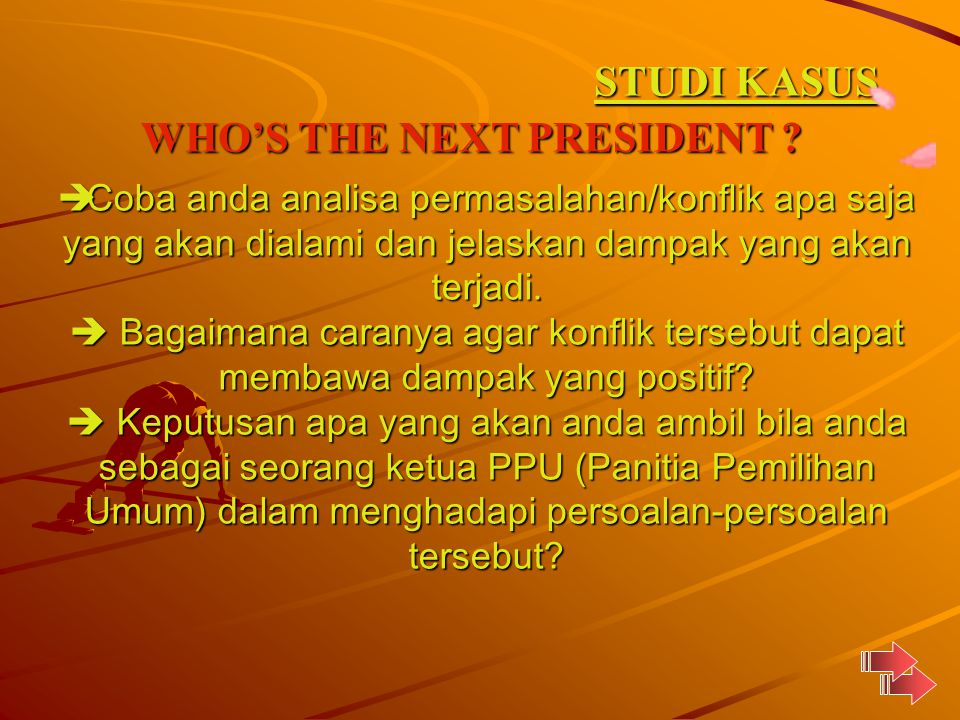 WHO'S THE NEXT PRESIDENT