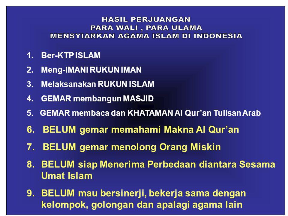 MENSYIARKAN AGAMA ISLAM DI INDONESIA