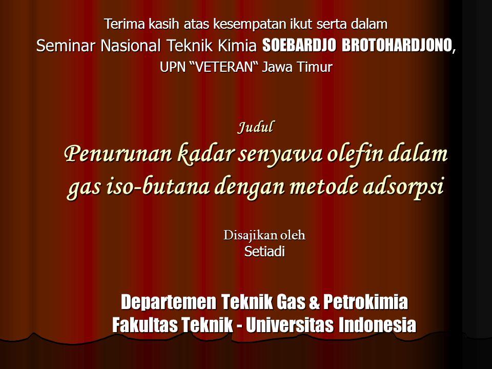 Departemen Teknik Gas & Petrokimia