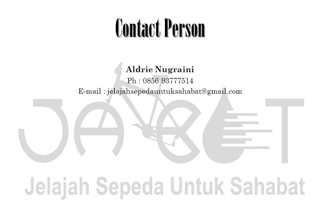 E-mail : jelajahsepedauntuksahabat@gmail.com