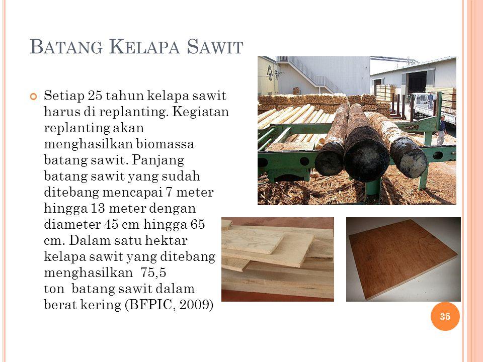 Batang Kelapa Sawit
