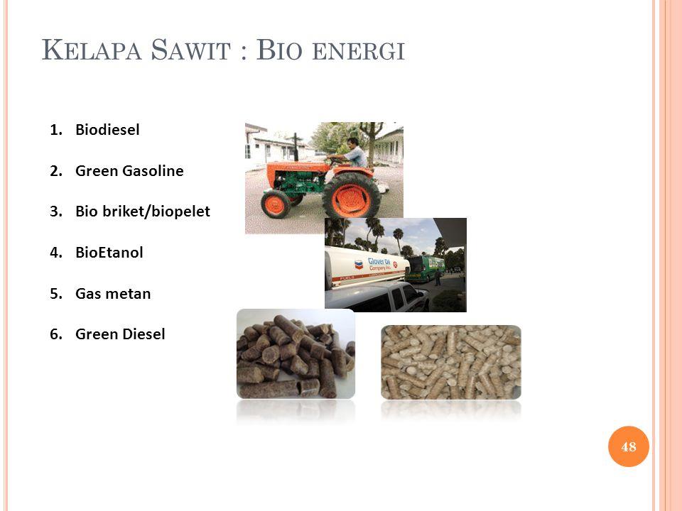 Kelapa Sawit : Bio energi