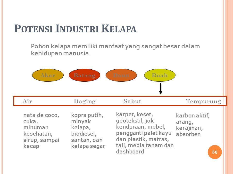 Potensi Industri Kelapa