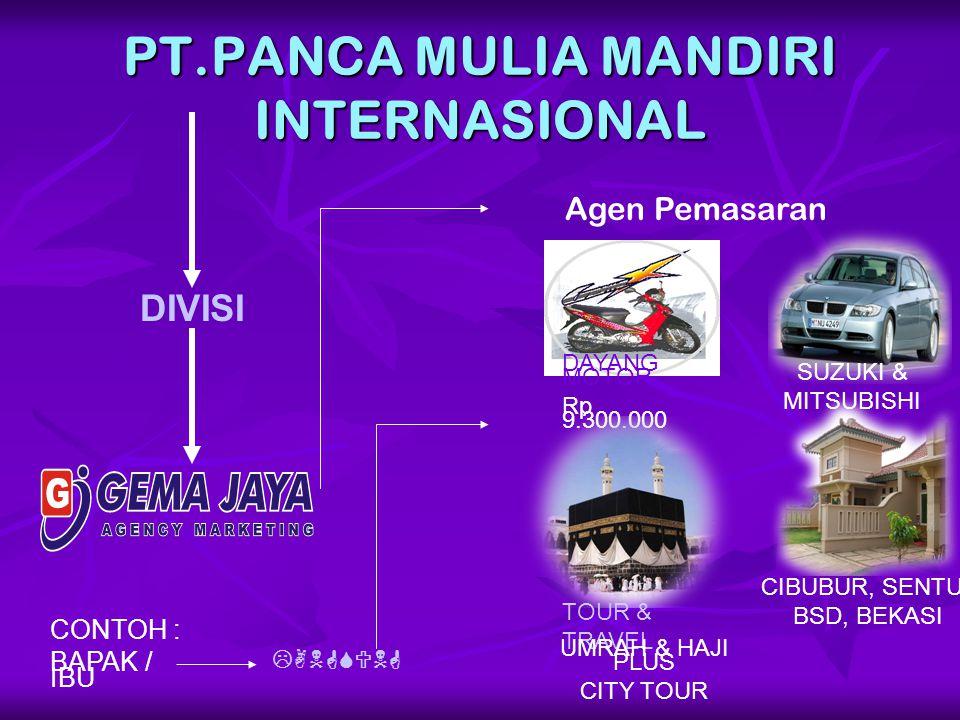 PT.PANCA MULIA MANDIRI INTERNASIONAL
