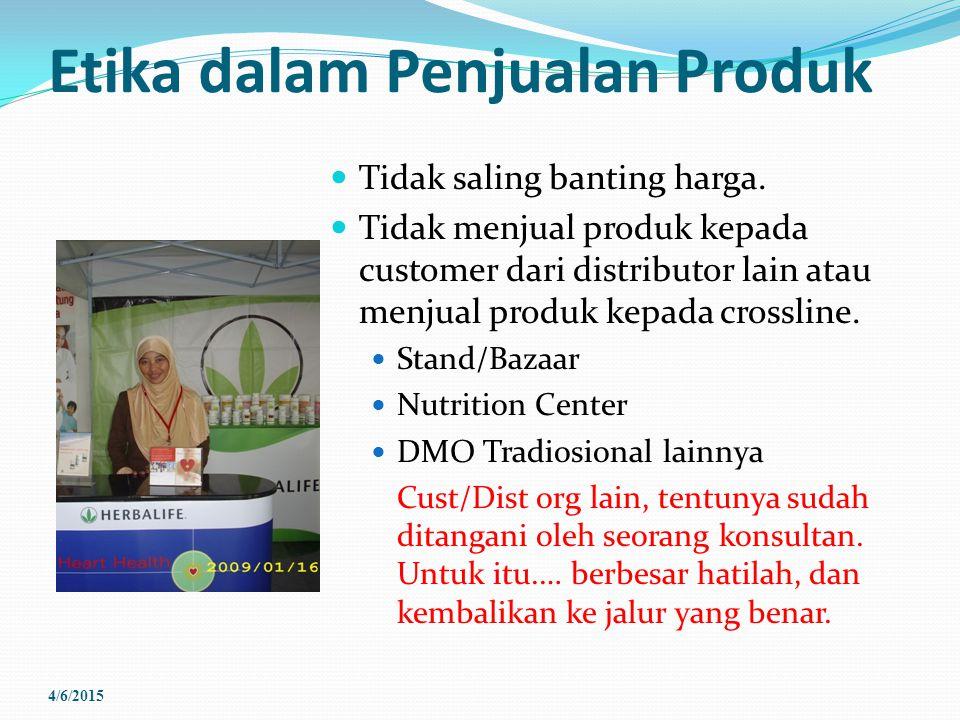 Etika dalam Penjualan Produk