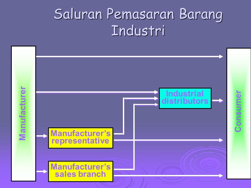 Saluran Pemasaran Barang Industri