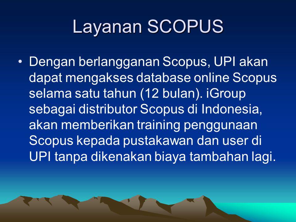 Layanan SCOPUS
