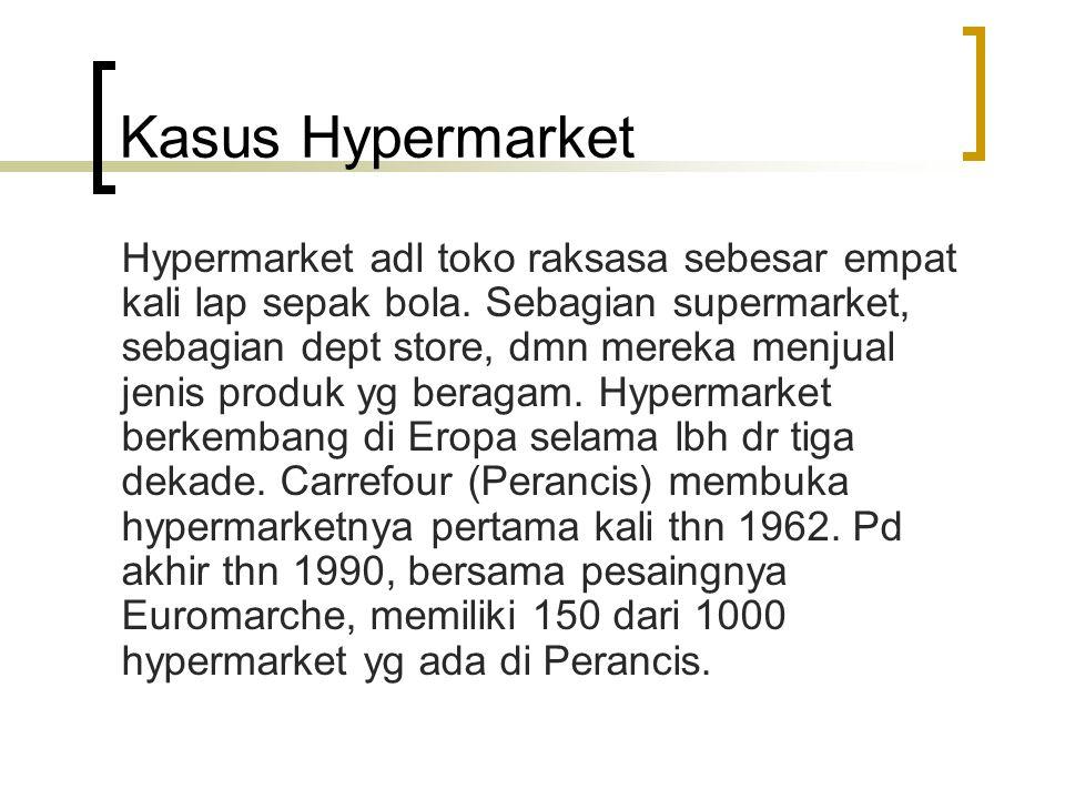 Kasus Hypermarket