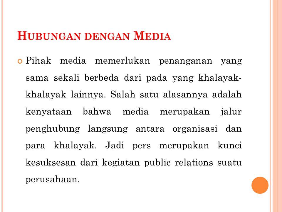 Hubungan dengan Media