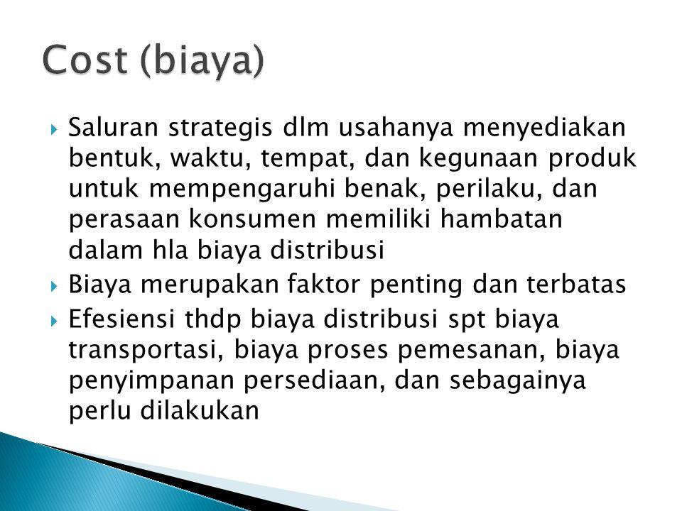 Cost (biaya)