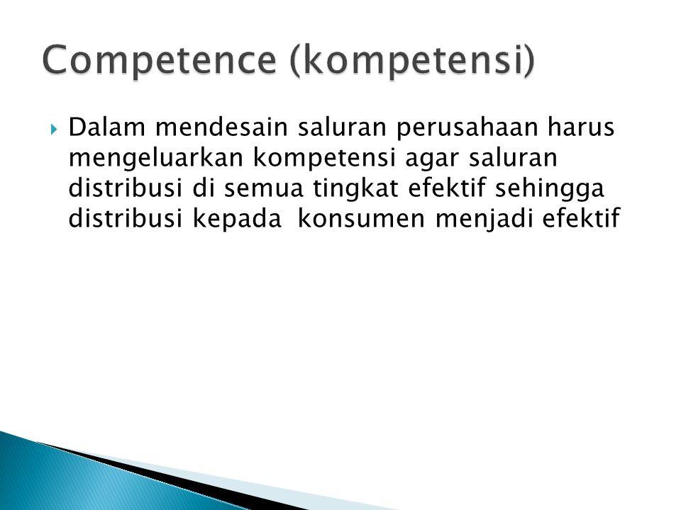 Competence (kompetensi)