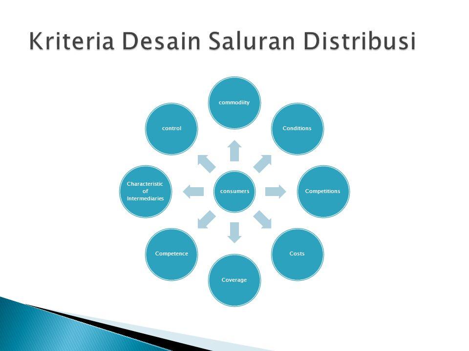 Kriteria Desain Saluran Distribusi
