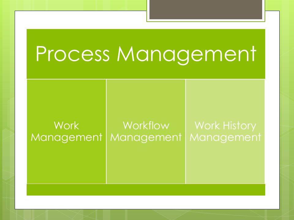 Work History Management