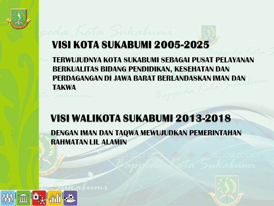 VISI WALIKOTA SUKABUMI 2013-2018