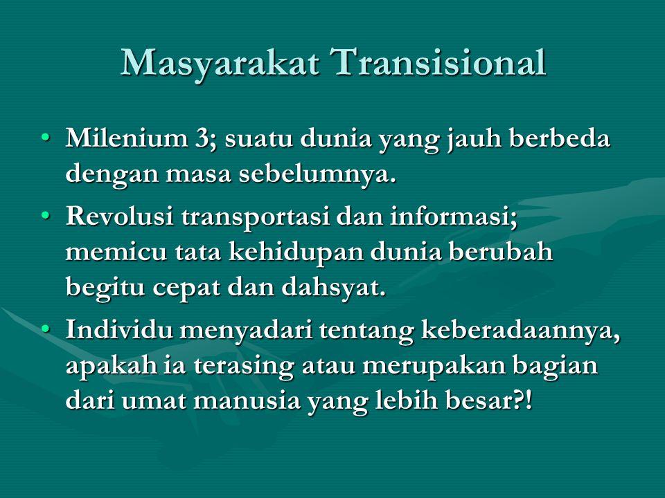 Masyarakat Transisional