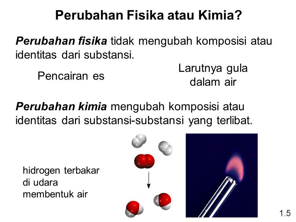 Perubahan Fisika atau Kimia