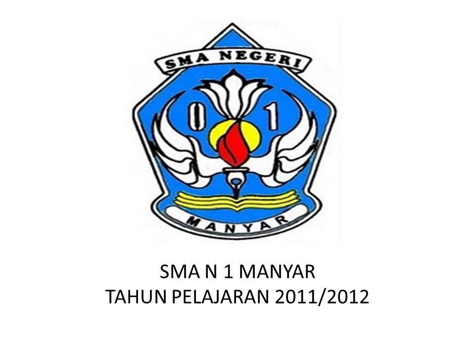 SMA N 1 MANYAR TAHUN PELAJARAN 2011/2012