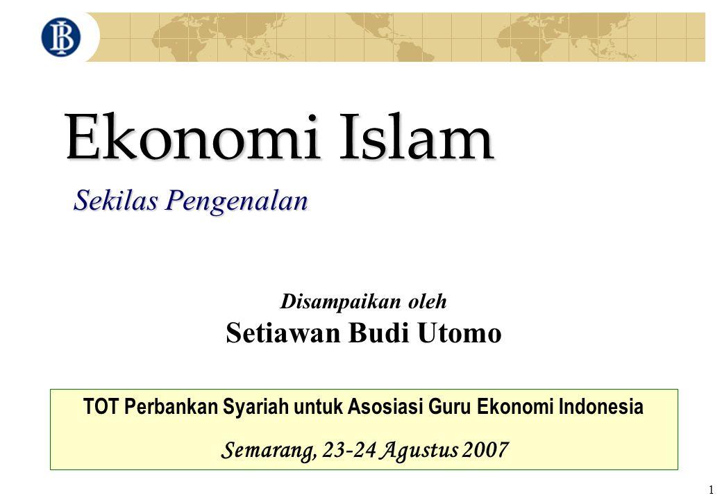 TOT Perbankan Syariah untuk Asosiasi Guru Ekonomi Indonesia