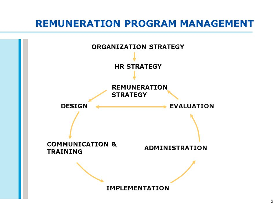 REMUNERATION PROGRAM MANAGEMENT