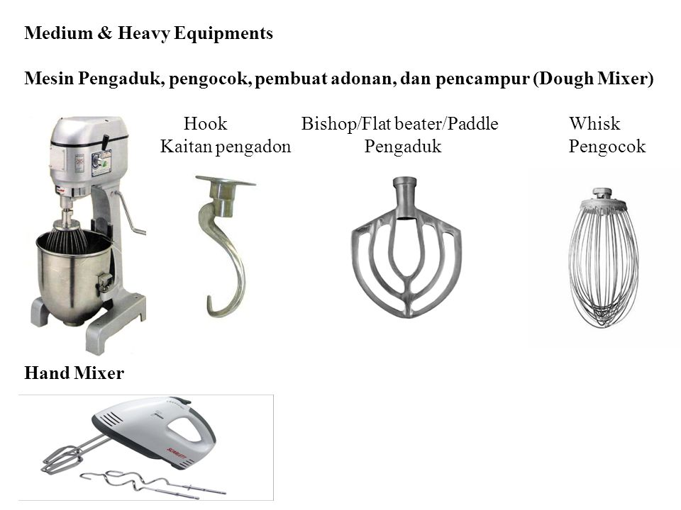 Medium & Heavy Equipments