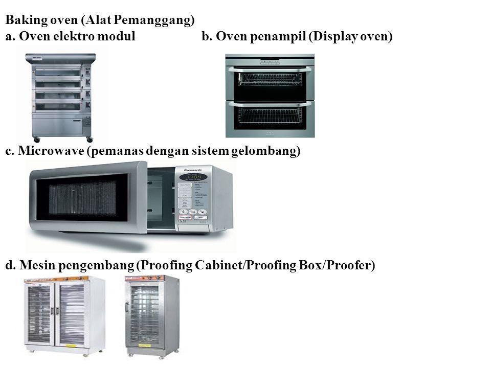 Baking oven (Alat Pemanggang)