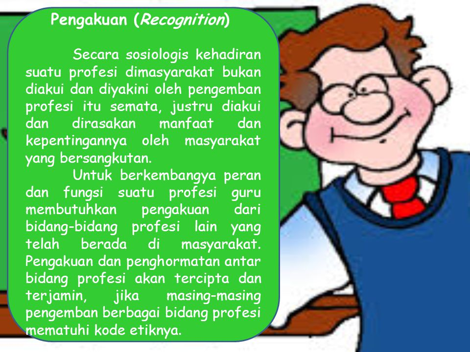 Pengakuan (Recognition)