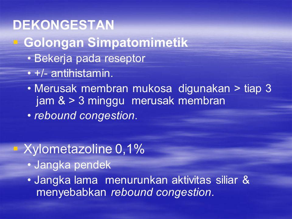 Golongan Simpatomimetik