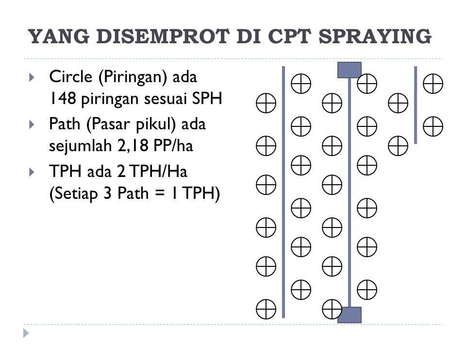 YANG DISEMPROT DI CPT SPRAYING