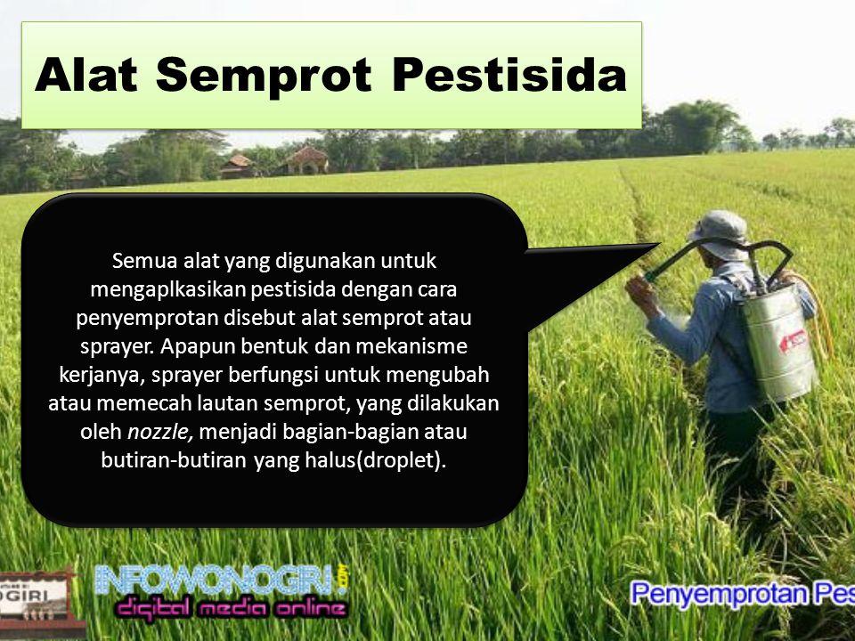 Alat Semprot Pestisida