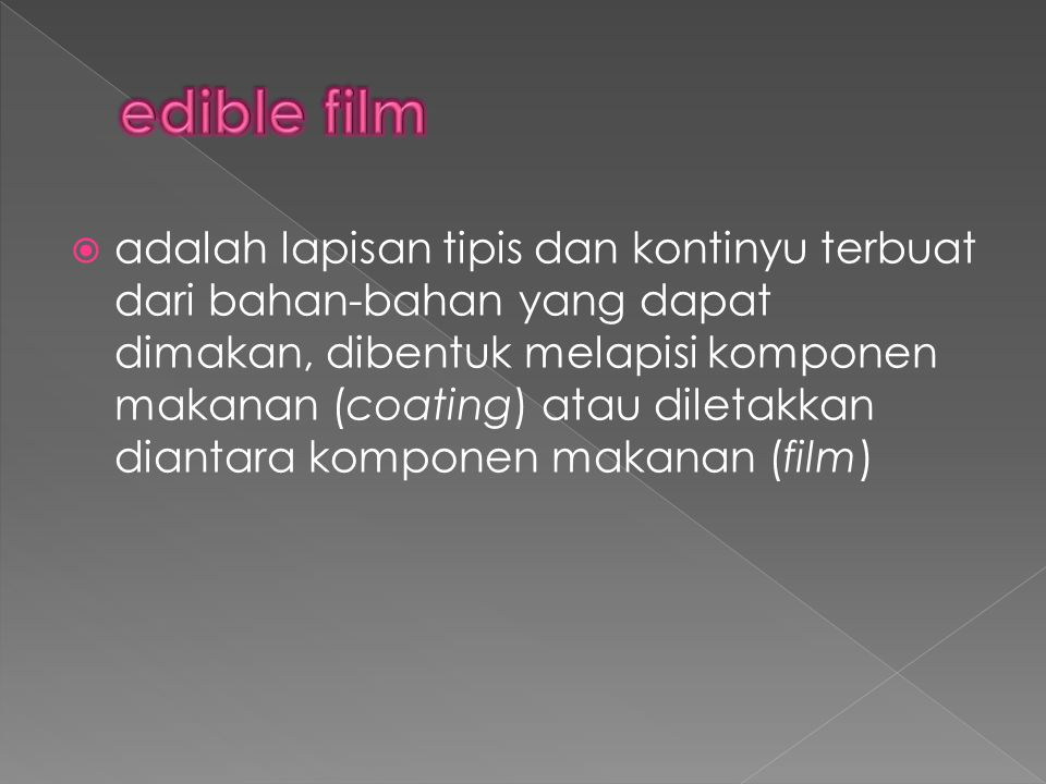edible film