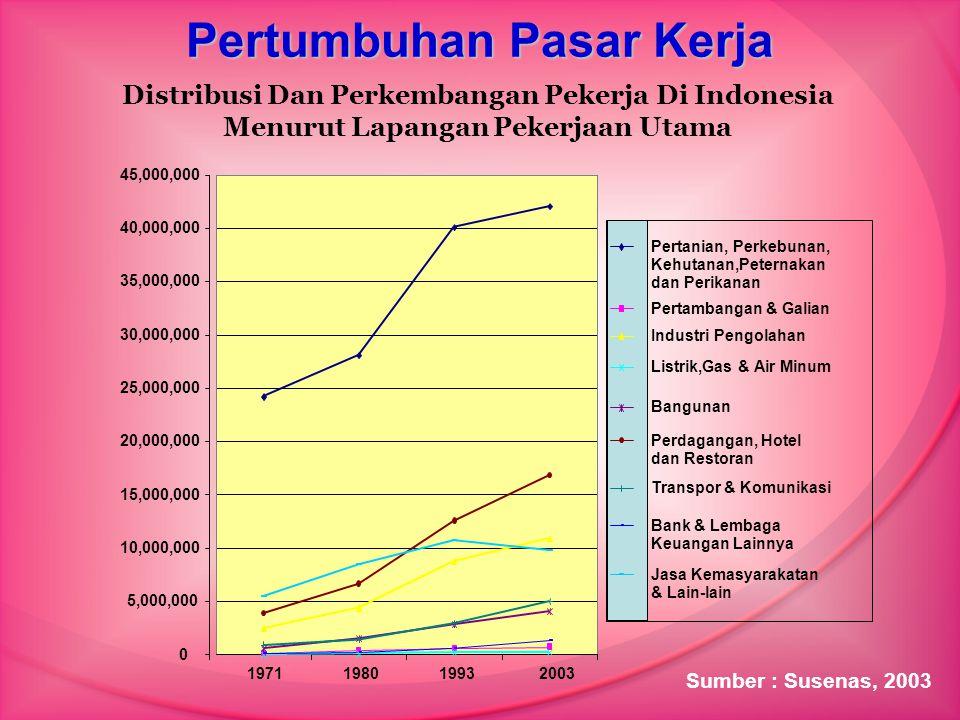 Pertumbuhan Pasar Kerja