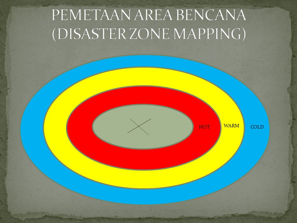 PEMETAAN AREA BENCANA (DISASTER ZONE MAPPING)