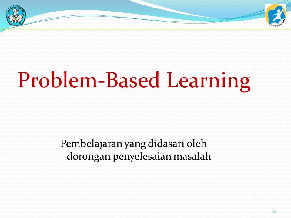 Pembelajaran yang didasari oleh dorongan penyelesaian masalah