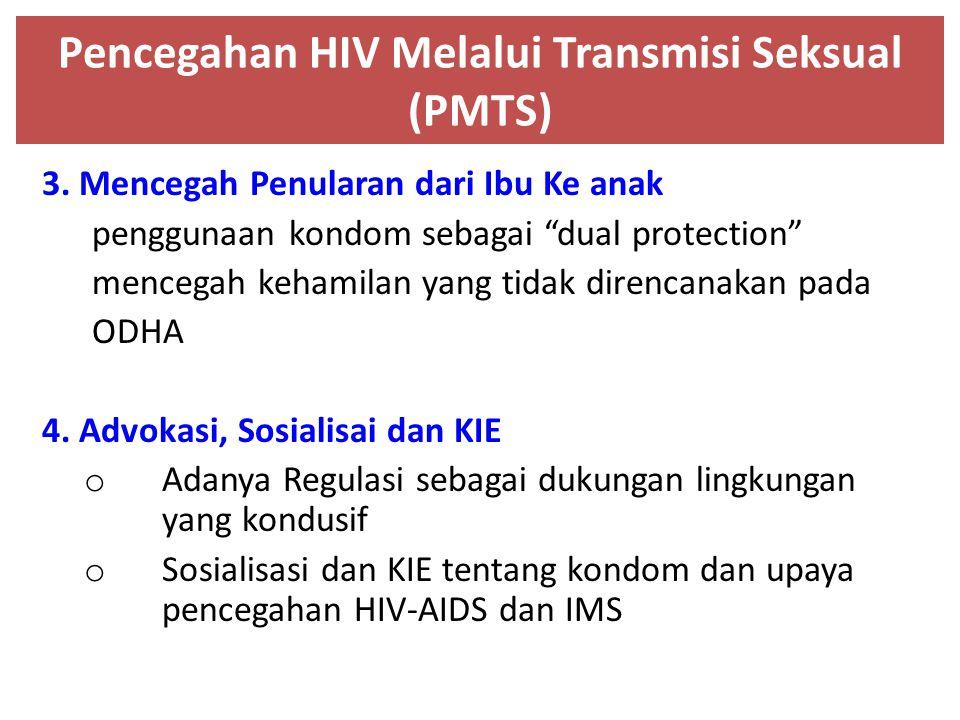 Pencegahan HIV Melalui Transmisi Seksual (PMTS)