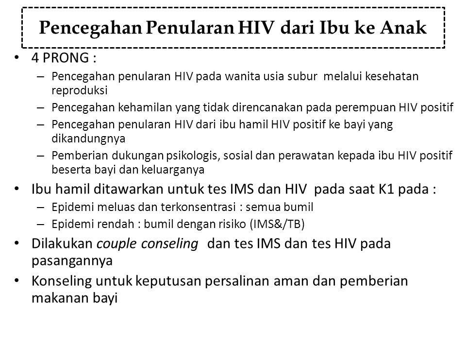 Pencegahan Penularan HIV dari Ibu ke Anak