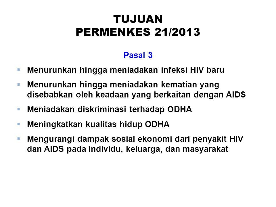 TUJUAN PERMENKES 21/2013 Pasal 3