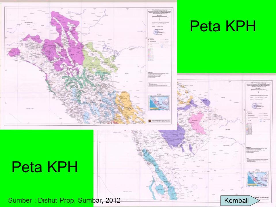 Peta KPH Peta KPH Sumber : Dishut Prop. Sumbar, 2012 Kembali