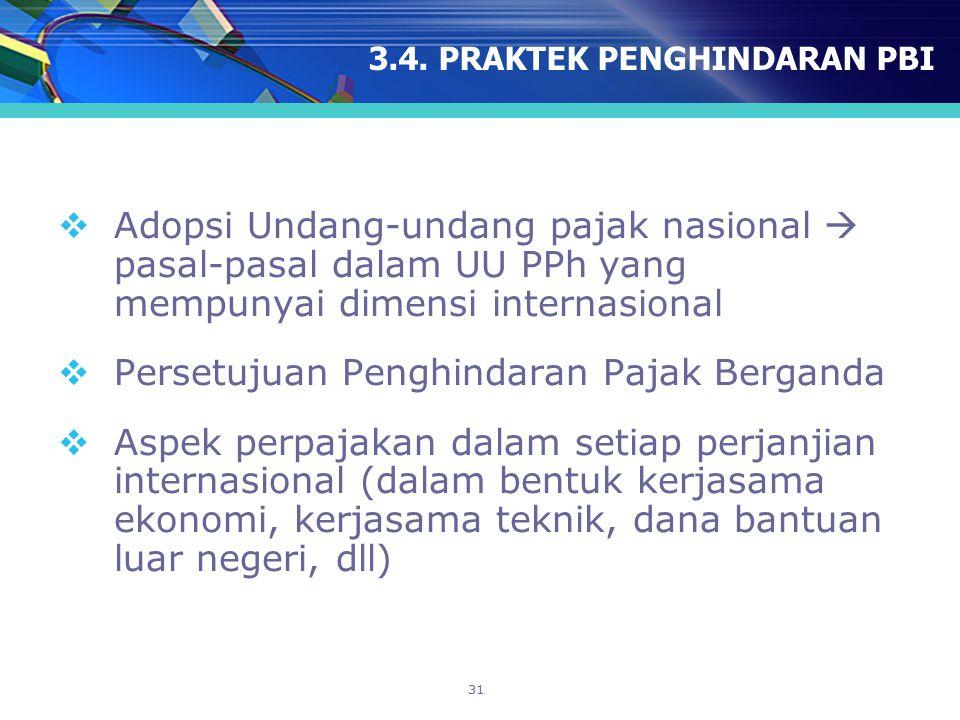 3.4. PRAKTEK PENGHINDARAN PBI