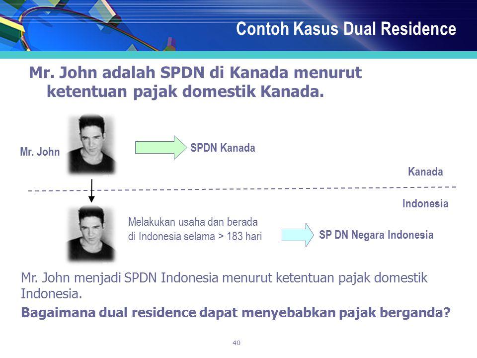 Contoh Kasus Dual Residence
